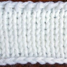 Tunisian Knit Stitch Tutorial With Pictures and Instructions