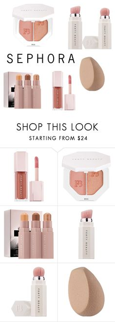 """FENTY BEAUTY by Rihanna"" by colynem ❤ liked on Polyvore featuring beauty and Puma"
