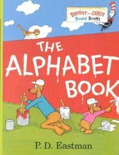 The Alphabet Book (Bright & Early Board Books)