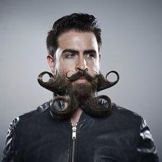 Creative Beard Styling