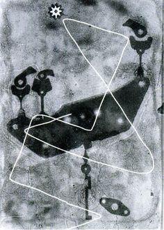 Heinz Hajek-Halke. Lichtgraphik. 1950s