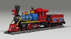LEGO Set MOC-1676 4-4-0 PF Steam Locomotive - building instructions and parts list. Theme: RC Train; Year: 2014; Parts: 540; Tags: moc rc train train