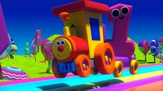 Ben il Treno – Ben e i numeri nel paese delle caramelle | Ben, The Train Numbers #bobthetrain #numbersong #education #kidslearning #entertainment #nurseryrhyme #songfortoddlers