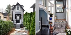 Somehow, Three (!) Stories Squeeze Into This Skinny Home   - HouseBeautiful.com