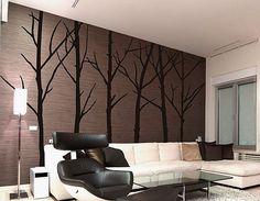 Winter Tree Wall Art Decals