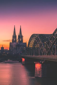Cologne, Germany - because seeing this one in a lifetime just isn't enough