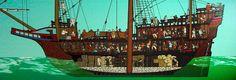 Fluyt Dutch Cargo Vessel