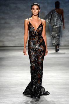 Michael Costello - Runway - Mercedes-Benz Fashion Week Spring 2015