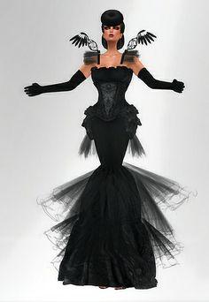 [AD] Ecate gothic mesh dress 860 @ Saviad