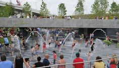 | Cumberland Splash Park | A fun (and free!) place to take the kids on a hot day. Best in the mornings before it gets too busy… ~NashMomsBlog.com~