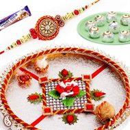 A1Rakhi - Shopping for Rakhi Thali, Buy Rakhi Pooja Thali and Send Rakhi Thali to India to your brother to make happy by Sending Rakhi with thali on Raksha Bandhan