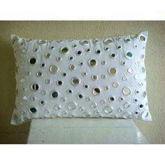 Handmade White King Pillow Shams, Mirrors King Pillow Sha... https://www.amazon.com/dp/B004NPTXDI/ref=cm_sw_r_pi_dp_x_ChQrybSKBWW34