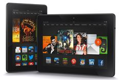 The sexy new Amazon Kindle Fire HDX. The World's Fastest Tablets
