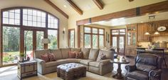 Jaw-Dropping Mix of Ranch & Craftsman Style Home (HQ Plan & Pictures)   Metal Building Homes