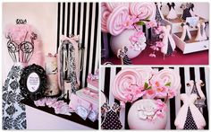 Barbie style theme party!