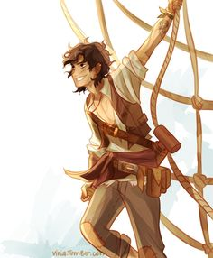 Leo Valdez deserves all the happiness in the world... any arguments against that are completely invalid.