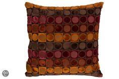 Dutchbone Ottava - Sierkussen - Rood/oranje