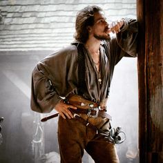 santiago Cabrera  my favorite musketeer on The musketeers
