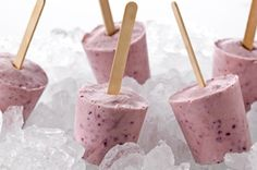 Banana-Berry Yogurt Pops