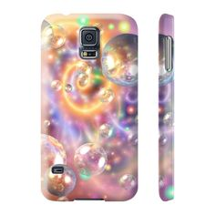 Bubbles - Slim Samsung Galaxy S5 Phone Case