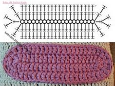 69 Ideas Crochet Bag Base Yarns For 2019 Crochet Sole, Graph Crochet, Crochet Clutch, Crochet Motifs, Crochet Diagram, Crochet Handbags, Crochet Purses, Crochet Stitches, Crochet Baby