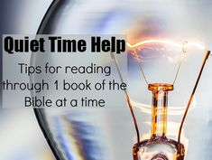 Tips for reading through one book of the Bible at a time {MissionalWomen.com}