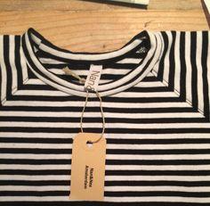 Jurkje in zwart wit print  Cotton& elasthan