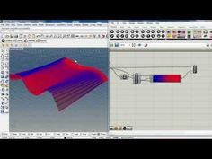 Tutorial Grasshopper evaluate and show surface curvature - YouTube