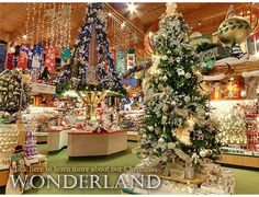 Biggest Christmas shop in the world! Michigan, USA