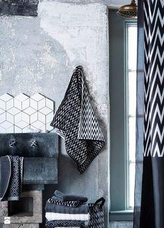 Łazienka styl Skandynawski - zdjęcie od H&M Home - Łazienka - Styl Skandynawski - H&M Home