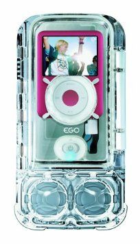 Amazon.com: eGo Waterproof Sound Case with Speaker for iPod nano 3G (Clear): MP3 Players & Accessories