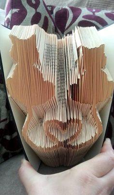 Kuvahaun tulos haulle book folding instructions