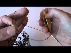 tatting lock join & picot