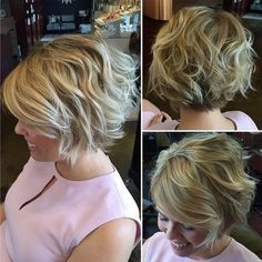 10 Stilvolle Kurze Haarschnitte für Dicke Haare: Frauen, die Kurze Frisur