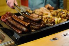 typical Slovak food at Christmas markets