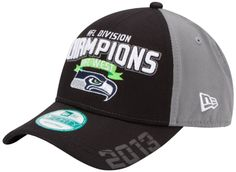 NFL Seattle Seahawks 2013 Division Champs 9Forty Adjustable Cap #superbowl #superbowl2014 #NFL #seattleseahawks #seahawks #champions #superbowlchampion