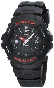 #1: Casio Men's G100-1BV G-Shock Classic Ana-Digi Watch