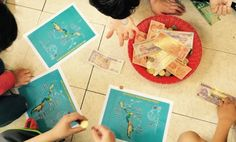 Fun for Spanish Teachers: Geography Center with Money