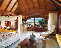 Nannai Beach Resort à Porto de Galinhas, Brésil. Idea for a gorgeous bedroom.