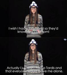*TARDIS..... but yeah I agree