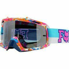 Fox racing splatter paint goggles