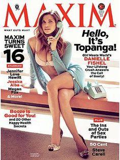 Danielle Fishel Maxim Magazine Cover