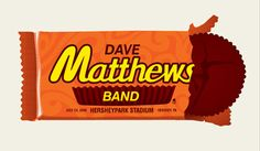 Dave Matthews Band - Hershey Park, Hershey, PA - July 24, 2009 ....I'm always upset that I didn't pay this poster when I was there!