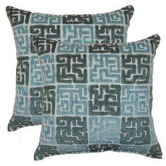 Zamora 17-inch Throw Pillows