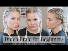 Hair For Beginners Ep.2 • How to Dutch/Dino Braid Step By Step   ShinyLipsTv - YouTube