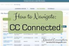How To Navigate CC Connected & Organize Your Files :: bentkitchen.blogspot.com
