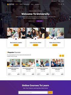 15 best free education html templates images free education html rh pinterest com