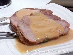 Je vous présente une recette de rôti de porc ultra savoureuse. Une viande moelleuse, une saveur subtile apporté par le miel et la bière, et...