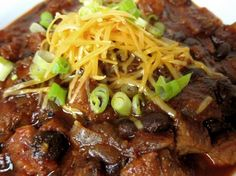Prime Rib Chili With all of the holiday entertaining, dealing with leftovers can be a challenge. Rib roasts are often a good buy during the holidays. I like to take advantage of those bargains, usi… Rib Recipes, Crockpot Recipes, Cooking Recipes, Healthy Recipes, Recipies, Chowder Recipes, Soup Recipes, Chilli Recipes, Leftover Prime Rib