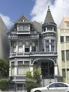 Victorian. Pacific Heights, San Francisco, CA
